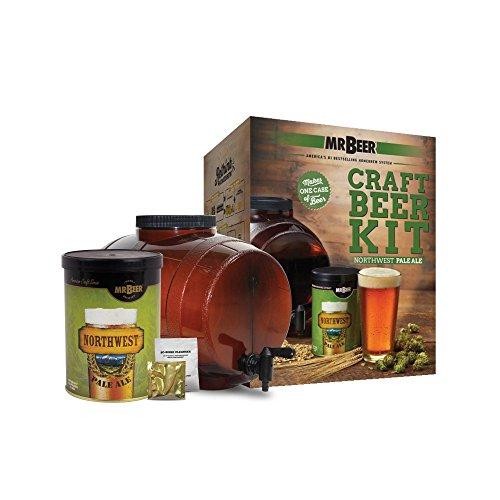Mr. Beer Northwest Pale Ale Craft Beer Making Kit (Pale Ale Refill)