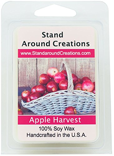100% All Natural Soy Wax Melt Tart - Apple Harvest: Apple Ha
