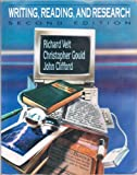 Writing, Reading, and Research, Veit, Richard C. and Gould, Christopher, 0024229113