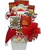 Delight Expressions Santa Says… Holiday Christmas Gift Basket (Small)