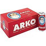 x12 PIECES (FULL BOX) ARKO SHAVING CREAM SOAP STICK 75 GRAMS ***FREE UK DELIVERY***