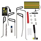 Paintless Dent Repair Tools Auto Body Repair Kits with PDR Rods LED Line...