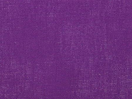 Tela de algodón liso con aspecto de lino de Ramie color morado – por metro: Amazon.es: Hogar