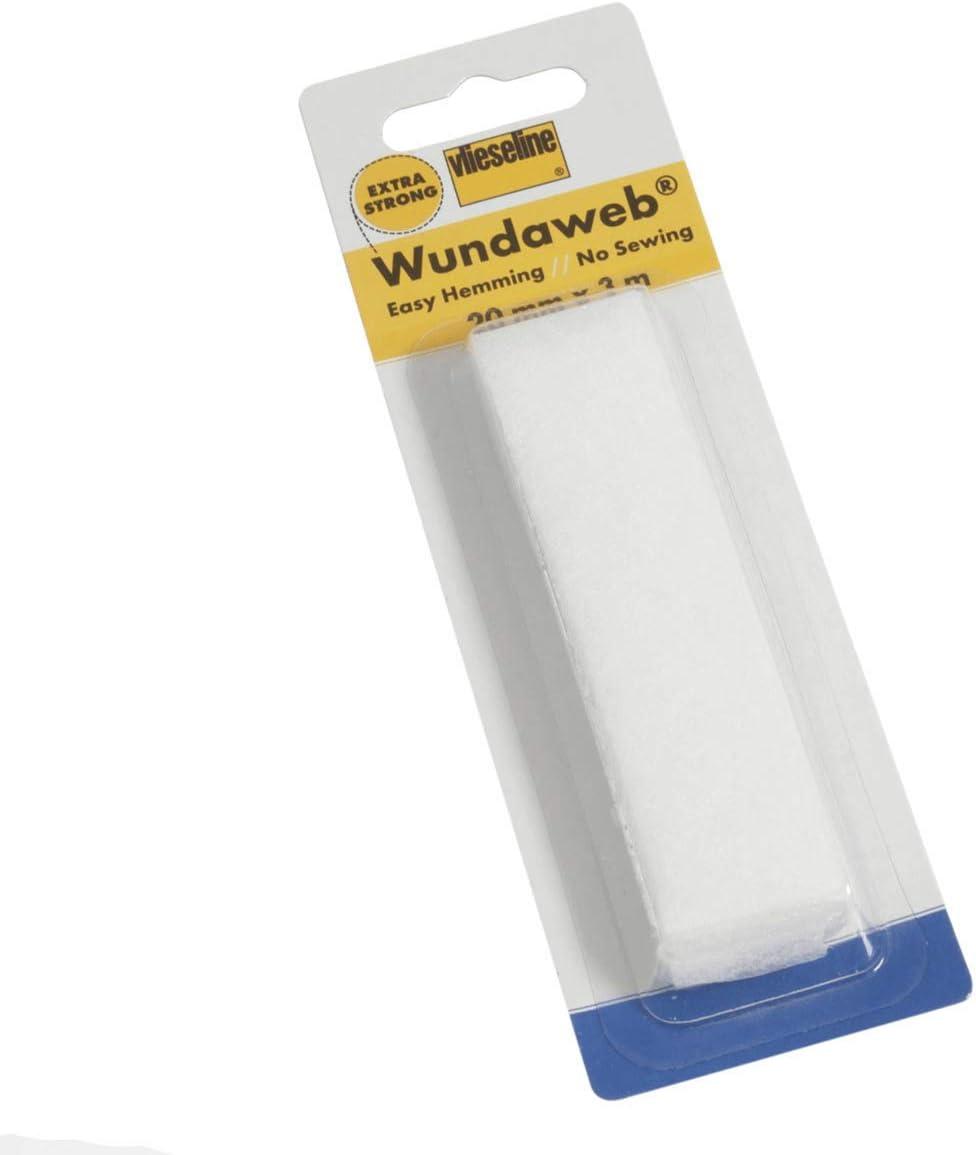 Dobladillo Fix 10mm Vilene Vlieseline de 5m sin Coser Costura Cinta De Planchado Wundaweb