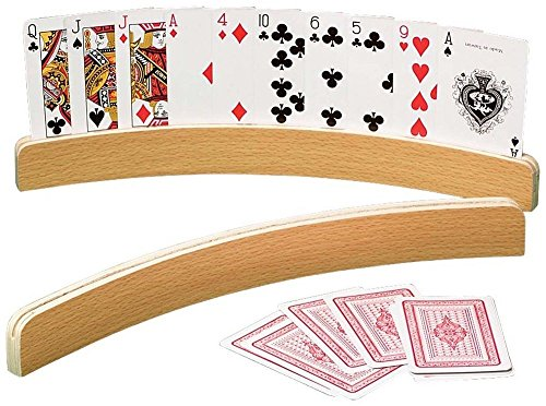 playing card holder wood - 8