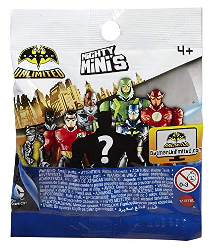 Batman Unlimited Series 1 Mighty Mini's by DC Comics (6 Pack)
