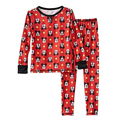 Boy's Mickey cudd Thermal Set, 4T