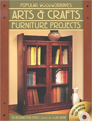 popular arts u0026 crafts furniture 25 designs for every room in your home popular woodworking editors amazoncom books