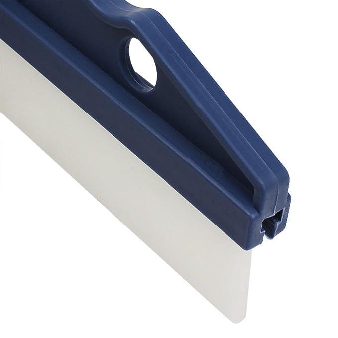 topbeu agua limpiaparabrisas cuchilla para rasqueta (coche vehículo parabrisas ventana lavado limpieza accesorios