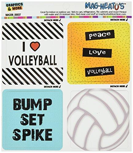 Graphics More Volleyball Mag Neatos Refrigerator