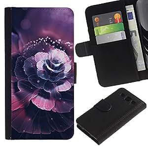 JackGot ( Hermosa flor de cerezo ) Samsung Galaxy S3 III i9300 i747 la tarjeta de Crédito Slots PU Funda de cuero Monedero caso cubierta de piel