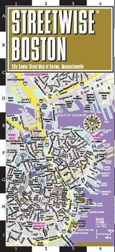 Streetwise Boston Map - Laminated City Center Street Map of Boston, Massachusetts (Michelin Streetwise (Ma Street Map)