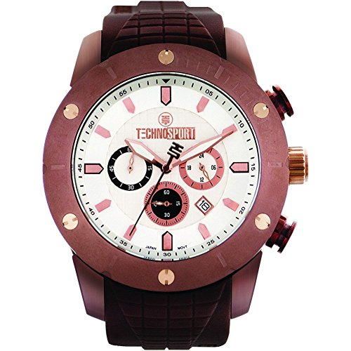 TechnoSport Men's Chrono Watch - FORCE brown