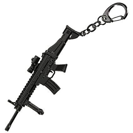 Amazon.com: Arma Métal Llavero – FN Scar mk16: Toys & Games