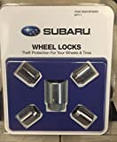 Genuine Subaru Alloy Wheel Locks KIT Fits All Models - Set of 4 - B321SFG000 OEM