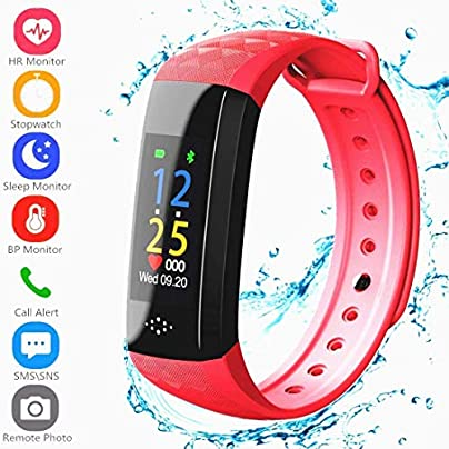 YYRR Fitness Tracker Sports Wristband Heart Rate Monitor Sleep Monitor Waterproof IP67 Call SMS SNS Alarm Android iPhone Estimated Price -