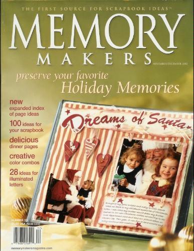 Memory Makers magazine - November/December 2002 pdf