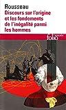Discours sur l'Origine et les Fondements de l'Inegalite Parmi les Hommes, Jean-Jacques Rousseau, 2070325415