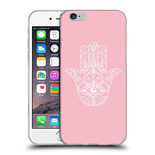 GoGoMobile Coque de Protection TPU Silicone Case pour // Q09970630 Œil Providence 23 Rose // Apple iPhone 6 4.7""