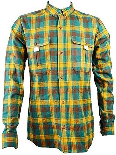 Eleven Paris Hombre ciakos manga larga camisa de cuadros verde (epst028) TALLA 38 MEDIANO: Amazon.es: Ropa y accesorios