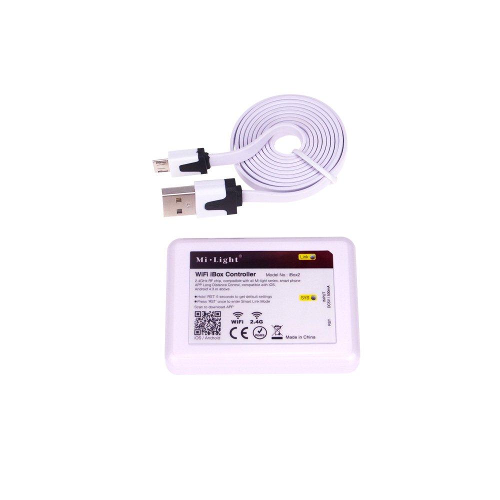 Amazon com: 2 4g LED Milight WiFi iBox 2 Controller, 2 4G WiFi
