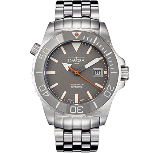 Davosa Automatic Swiss Made Men Watch, Professional Argonautic BG 16152290, Stainless Steel Wrist Band, Exceptional Luminous Analog Face by Davosa