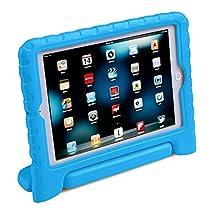 HDE iPad Mini Kids Case Shockproof Handle Stand Cover for Apple iPad Mini 2/3 Retina (Blue)