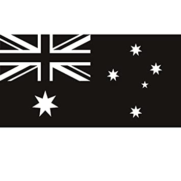 Australian flag australia wall art stickers wall decals 02 vinyl sticker wall art deco decal