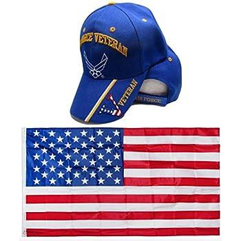 3a95f6d6e4e2c Amazon.com : U.S. Air Force Airforce USAF White Yellow Rim USA Patch ...