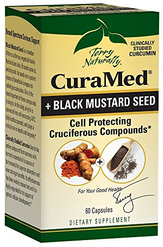 Terry Naturally CuraMed® + Black Mustard Seed 60 Capsules by Terry Naturally (Image #1)