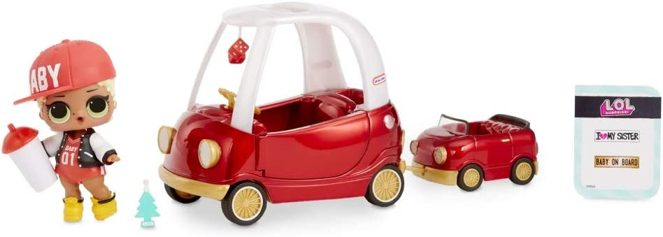 Giochi Preziosi LOL Surprise Spaces Pack with Cozy Coupe and M.C Swag