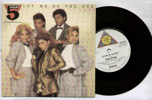 5 STAR - LET ME BE THE ONE - 7 inch vinyl/45