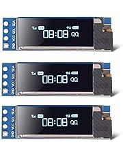 Módulo de pantalla OLED I2C de 0.91 pulgadas 128x32 OLED I2C SSD1306 OLED DC 3.3 V ~ 5 V módulo de pantalla 128X32 blanco I2C OLED controlador de pantalla para Arduino
