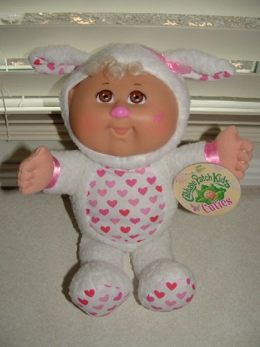 Cabbage Patch Costume For Baby (Cabbage Patch Kids *Cuties* Doll in Lamb Costume)