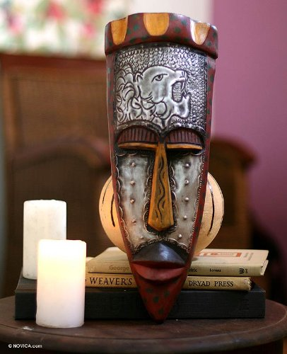 Ghanaian wood mask, 'Executioner'