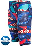 TYR Avictor Prelude Male High Short Color: Red/White/Blue Size: 27