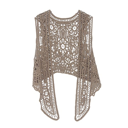 Jastie Pirate Curiosity Open Stitch Cardigan Boho Hippie for sale  Delivered anywhere in USA