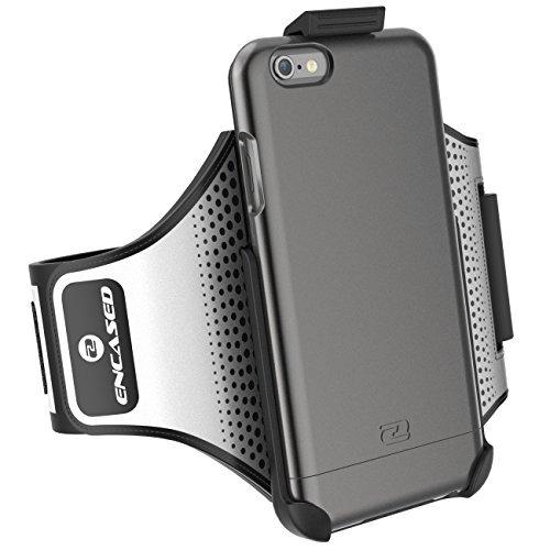iPhone Armband Encased Click N Go Metallic