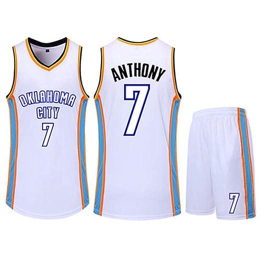 HS-QIAN1 7# Conjunto De Camiseta De Baloncesto De La NBA Carmelo ...