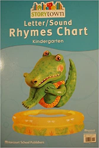 letter and sound charts kindergarten harcourt