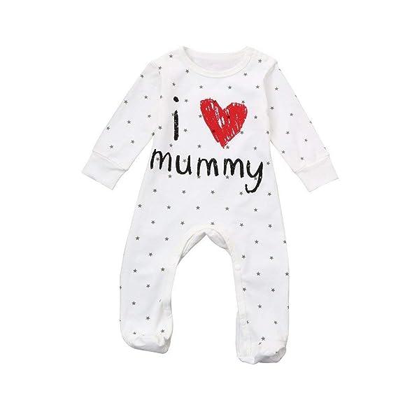 Pijama para Bebé Mameluco Unisexo Regalo del Dia de la Madre Mono ...