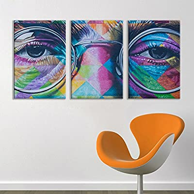 3 Panel Triptych Street Graffiti Series John Lennon x 3 Panels, Crafted to Perfection, Amazing Style