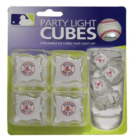 Boston Red Sox MLB Light-Up Ice Cubes