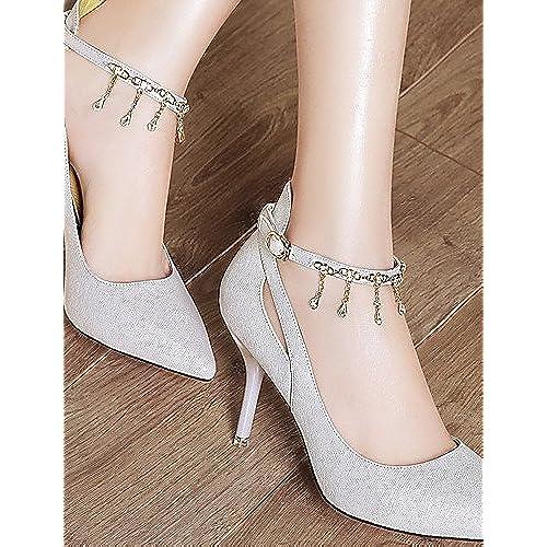Ggx femme Chaussures Paillettes Printemps été automne hiver talons talons  Mariage  8addaad89ad3