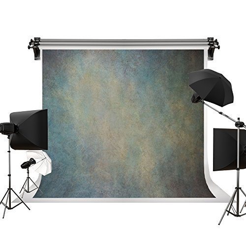 Kate 15x10ft Oil Painting Printed Old Master Gray Green Background Portrait Photography Abstract Texture Backdrop Photography Studio Props for Photographer Kids Children Adults by Kate