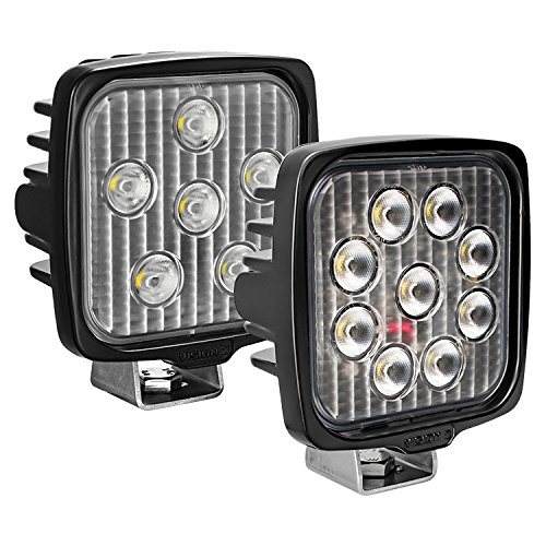 Vision X Lighting 9911311 One Size Vl- Series Work Light (Square/Nine 5-Watt Leds/40 Degree Flood Pattern)