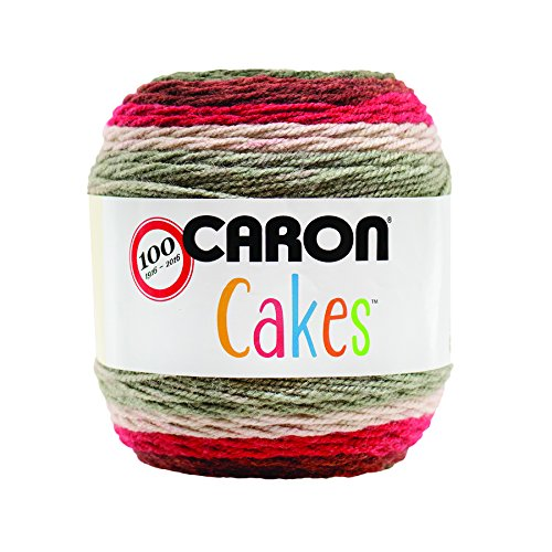 Caron Cakes Self-Striping Yarn ~ RED VELVET # 17005 ~ 7.1 oz. Cake by the Each