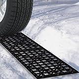 Stalwart 82-YJ498 Car Tire Snow Grabber Mat- 2 Piece