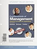 Fundamentals of Management : Essential Concepts and Applications, Student Value Edition Plus 2014 MyManagementLab with Pearson EText -- Access Card Package, Robbins, Stephen P. and De Cenzo, David A., 0133792390