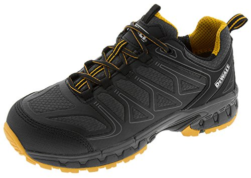 DEWALT Men's Boron Aluminum Toe Work Shoe (9.5 D(M) US, Black/Yellow) from DEWALT